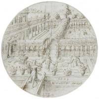 Zeldzame tekeningen Vredeman de Vries naar Fries Museum