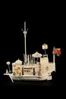 Unieke aanwinst Fries Scheepvaart Museum - Ivoren 'bloemenschip'