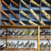 OKS koopt grote collectie lokvogels en lokfluiten